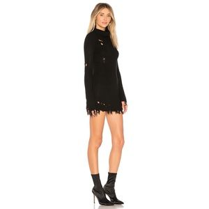 Lovers + Friends Dresses - NWT Lovers + Friends Keeney Sweater Dress Black M